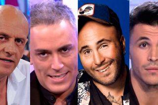 Los cuatro 'Kikos' que suelen ser noticia en Telecinco y casi nunca para bien