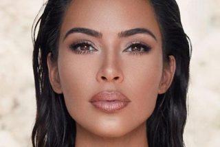 Mira la cara real de Kim Kardashian, sin maquillaje ni cirugías