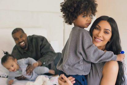 Kim Kardashian presume de familia numerosa en su última foto de Instagram