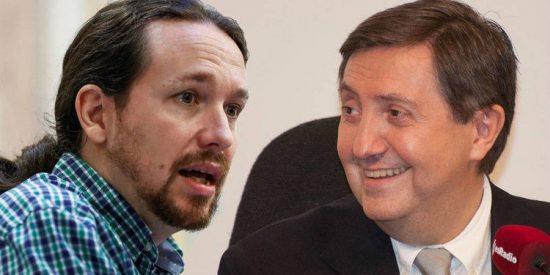 Losantos se exaspera con una derecha que está al mejillón y no aprovecha para acorralar a Iglesias con la 'Filesa' de Podemos