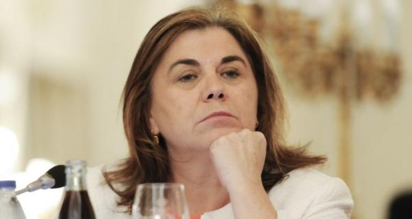 La ahora podemita Lucía Méndez al servicio del Gobierno Sánchez: acusa a PP y VOX de convertir el 8-M en otro 11-M