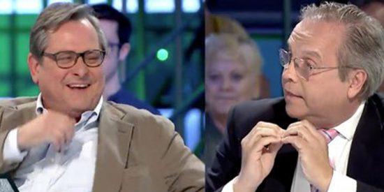 Marhuenda se parte la caja con la bronca entre Maestre y Carmona en 'laSexta Noche'