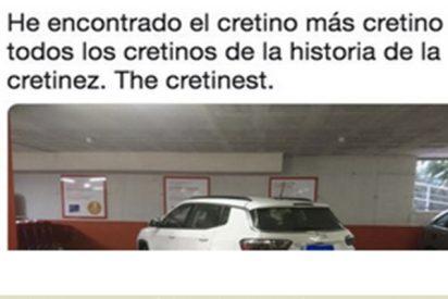 La foto de la forma de aparcar más sinvergüenza jamás vista, arrasa en las redes