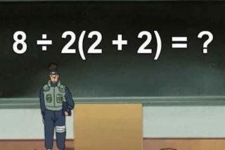 ¿Eres capaz de resolver la operación matemática imposible que se ha hecho viral en Twitter: 8÷2(2+2)?