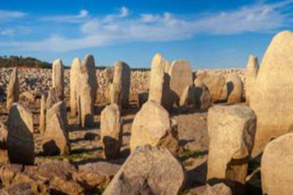 La pertinaz sequía saca a la luz el Stonehenge español cubierto por las aguas de un pantano en tiempos de Franco