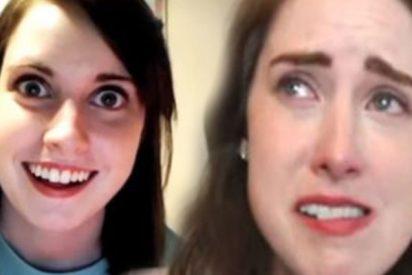"""Laina Morris dice adiós a YouTube: la joven del meme de la """"novia psicópata"""" dice que cayó en una """"depresión profunda"""""""