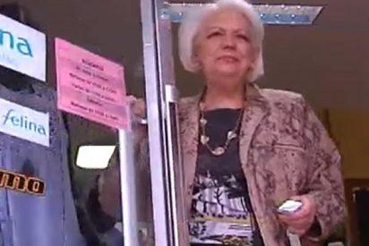 Loli, la mujer española que más años ha cotizado, se jubila