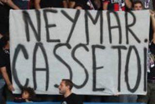 Los aficionados del PSG cargan contra Neymar