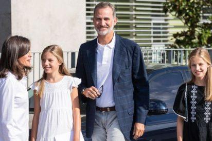 El detalle más 'feo' de la visita del Rey Felipe y la Reina Letizia a Don Juan Carlos