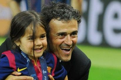 Luis Enrique anuncia la muerte de su hija de 9 años