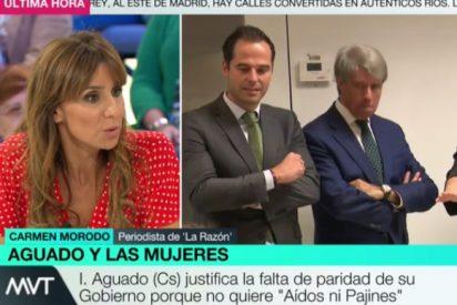 """La 'Palomera' de laSexta ataca a Ayuso por machista: """"No tiene un pase la poca presencia de mujeres en su Gobierno"""""""
