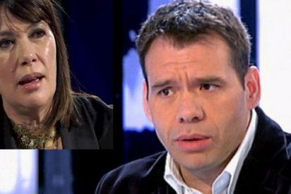 Rubén Amón irrumpe en tromba en Espejo Público y sacude la del pulpo a Mabel Lozano