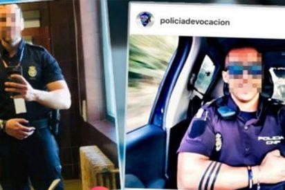 Malestar en la Policía Nacional por la moda de 'selfies' de 'polis guapos'