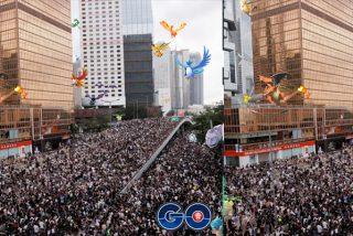 Manifestantes de Hong Kong usan el juego Pokémon Go para organizarse y evitar el control del gobierno chino