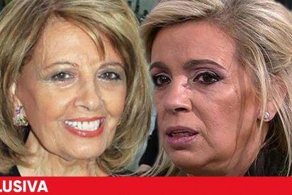 Teresa Campos, Terelu y Carmen Borrego, atemorizadas: un millonario robo puede airear documentos secretos del clan