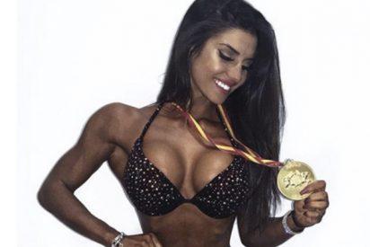 Marta López, cuñada de Kiko Matamoros, tiene más músculos que el calvo colaborador