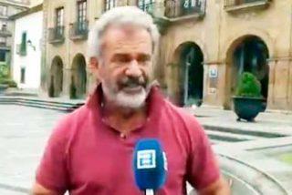 Mel Gibson fascinado por Don Pelayo tras visitar Oviedo