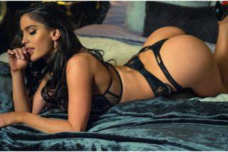 Natalia Barulich, la novia de Maluma, enseña lo que lleva debajo de la ropa