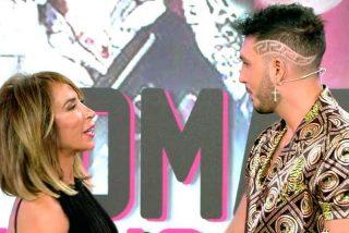 Omar Montes tira los 'tejos' a María Patiño en directo