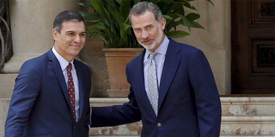 El envenenado roscón de Reyes que Moncloa le ha preparado a Felipe VI: el 5 de enero de 2020 ERC facilitará la presidencia de Sánchez
