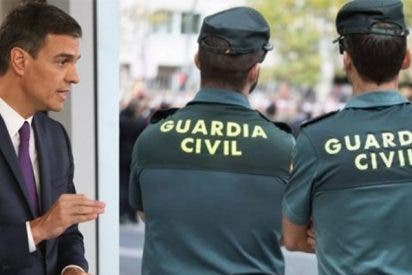 """Pedro Sánchez menosprecia a la Guardia Civil: """"Le pedimos una reunión y ni nos ha contestado"""""""