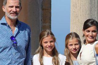 """Periodistas franceses se fijan en """"la regla"""" que Felipe y Letizia se """"han impuesto"""" por sus hijas"""