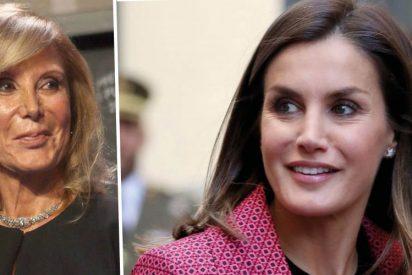 Pilar Eyre se agita y sugiere que la Casa Real la vetó en el 'carísimo' documental sobre la Reina Letizia