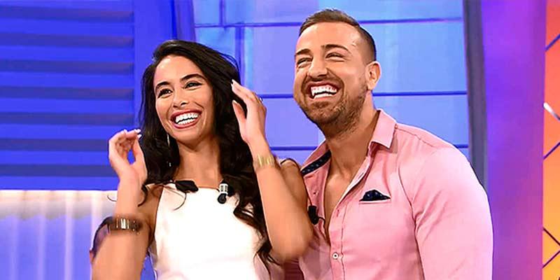 Macarena, la novia de Rafa Mora, justifica su desastre como presentador