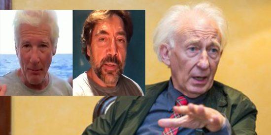 Albert Boadella sugiere a Javier Bardem y Richard Gere que repartan algunos de sus millones en lugar de hacerse fotos con el Open Arms