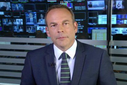 Esta 'húmeda' imagen de Informativos Telecinco tiene en ascuas al personal y es una 'pollada'