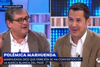 """La asombrosa revelación de Marhuenda: """"Como director de periódicos, me va mejor cuando gobierna la izquierda"""""""