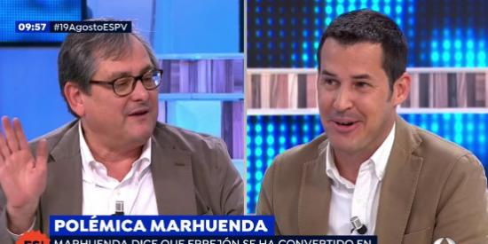 """La 'confesión' de Marhuenda: """"Como director de periódicos, me va mejor cuando gobierna la izquierda"""""""