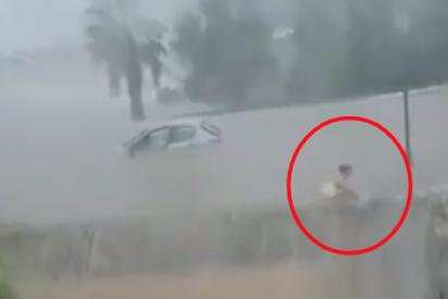 La angustiosa lucha de una mujer en Mallorca atrapada en una infernal cascada de agua