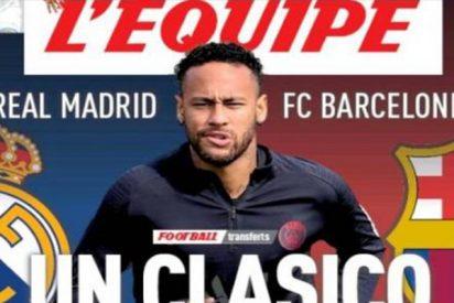 "Según 'L'Èquipe'; Real Madrid - Barcelona: un ""clásico"" para fichar a Neymar"