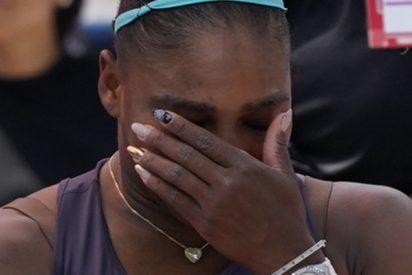 Serena Williams rompe a llorar tras abandonar la final de la Copa Rogers debido a una lesión