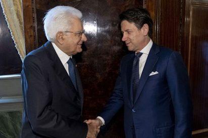 El presidente de Italia encarga a Conte la formación de nuevo Gobierno... sin Salvini