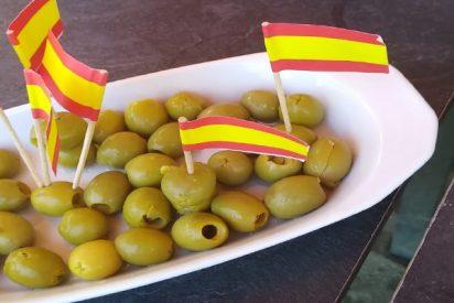 El descomunal cabreo de un cateto independentista catalán, por la forma en que le sirven en un bar de Madrid