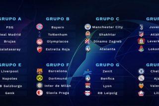Todo sobre el sorteo Champions: el Atlético se las verá con Cristiano y el Real Madrid… ¿con Neymar?