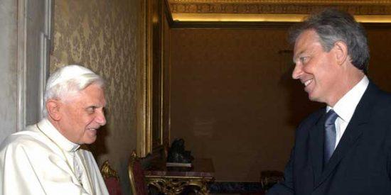 La conversión al catolicismo de Tony Blair