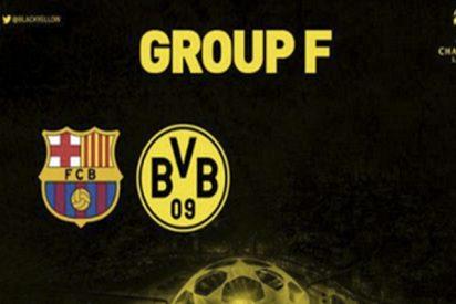 Tras tocarle el Barça en el sorteo de la Champions, el Borussia de Dortmund triunfa con este tuit