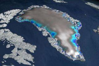 Un extraño temporal de nieve en Groenlandia fue generado por el huracán Larry