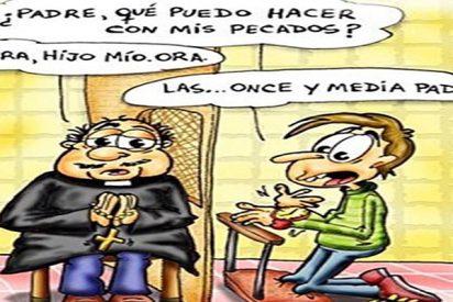 Chiste: el de cura gallego, el catalan y el andaluz y las limosnas