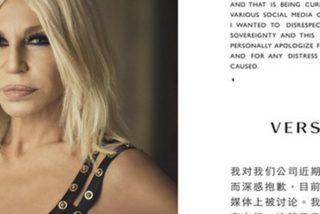 Así ha sido la disculpa de Versace por la camiseta que desató una polémica en China