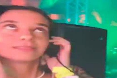 Victoria Federica lo da todo como DJ en el Starlite de Marbella
