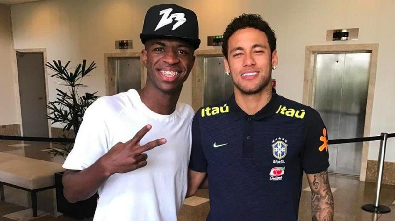 El Real Madrid le dice al PSG que 'verdes las han segado' y que no cambia a Vinicius por Neymar