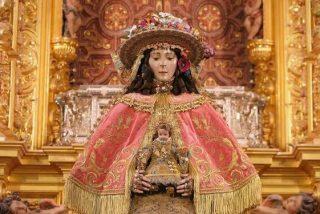 Todo listo para el traslado de la Virgen del Rocío al pueblo de Almonte