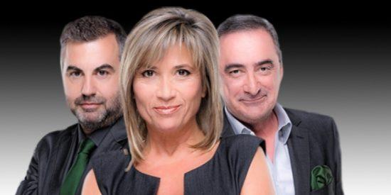 Carlos Alsina se 'traga' a su enemiga Julia Otero para arruinarle el estreno a Carlos Herrera