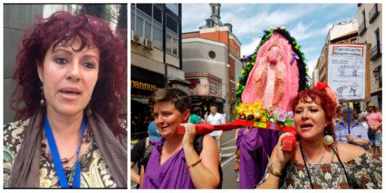 ¡Retratada! La feminazi que critica la campaña de la Junta de Andalucía contra la violencia de género, promovió el 'coño insumiso'