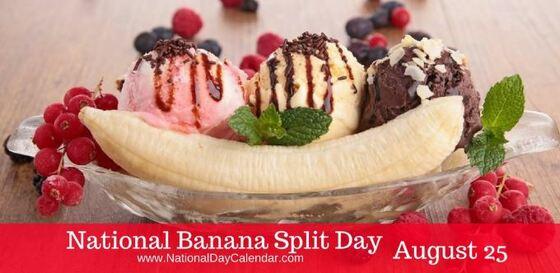 Banana split fácil y rápido