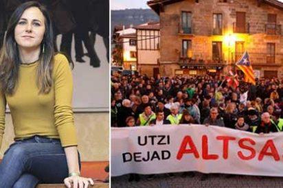 La podemita Belarra realiza todo un ejercicio de demagogia en Twitter a favor de los proetarras de Alsasua y le llueven vivas para la Guardia Civil